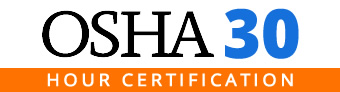 OSHA 30 Certification Training
