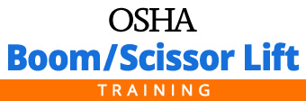 Boom Scissor lift OSHA Training